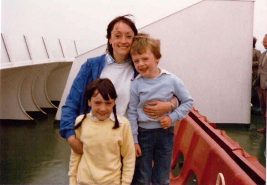 Ferry from Felixstowe