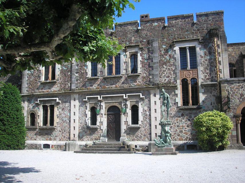 Château de la Napoule - main entrance