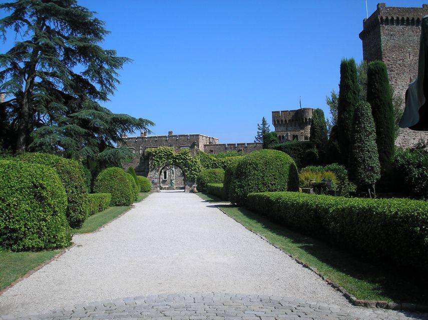 Château de la Napoule - view from gatehouse