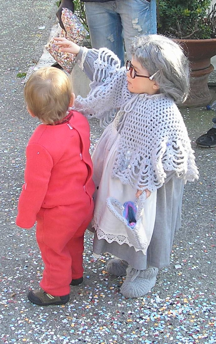 Children dressed for Carnival