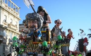 Float at Viareggio Carnival