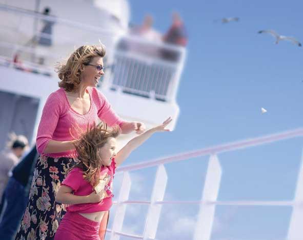 take a walk on deck