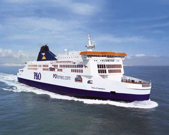 P O Ferries Food Prices