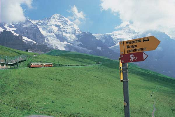 camping in Switzerland