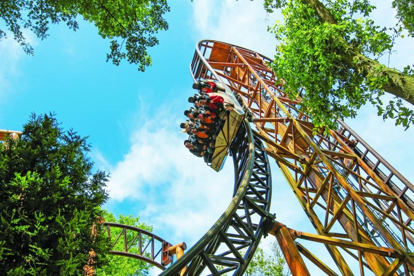 Duinrell a half term hot spot for Amusement park netherlands