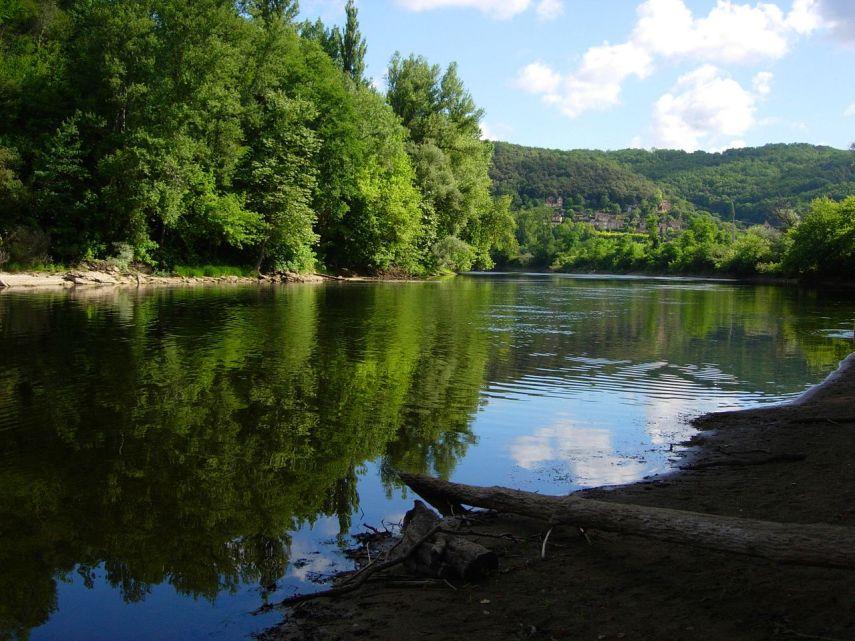 The Dordogne River