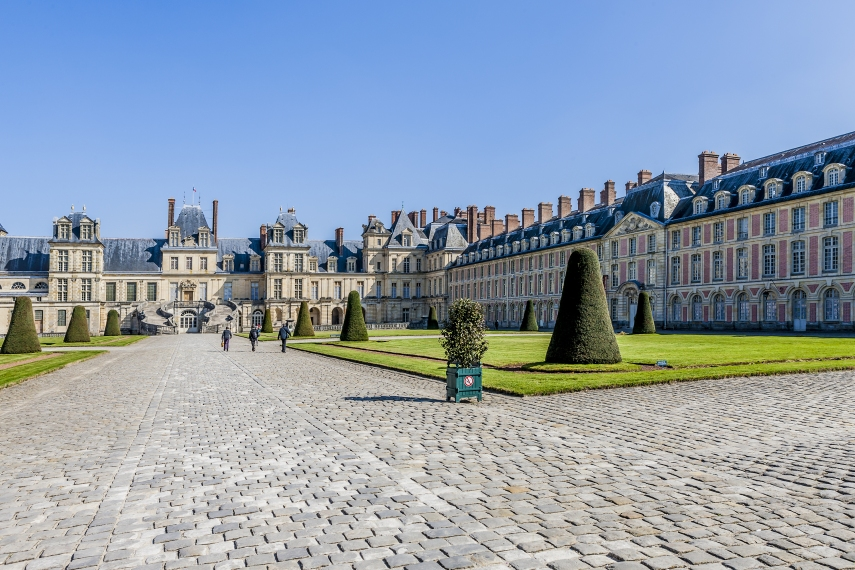 Royal Chateau of Fontainebleau