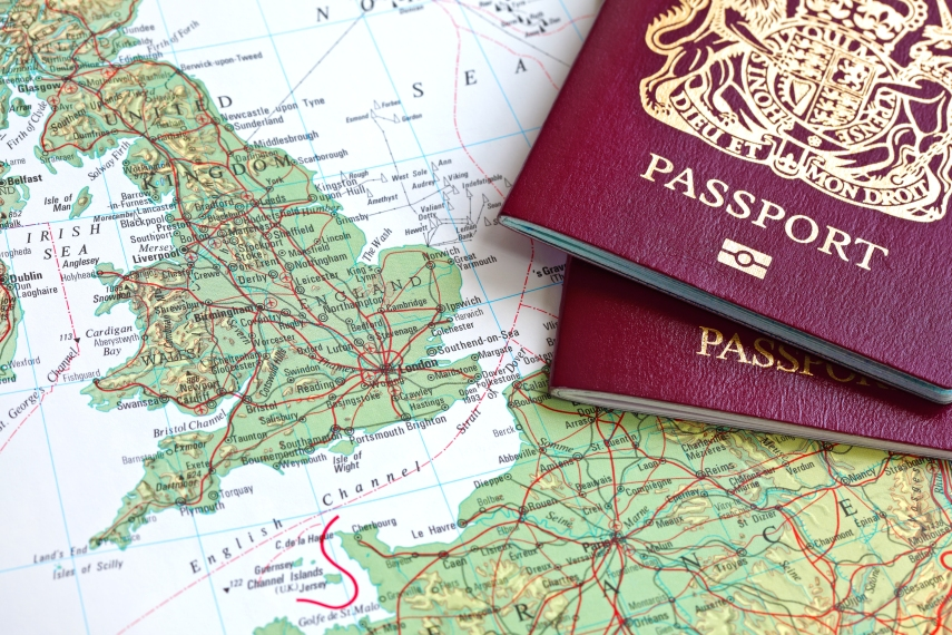 Map - passports