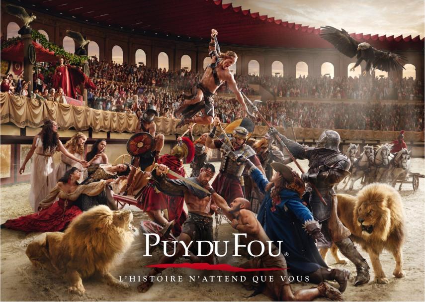 2015 Puy du Fou poster