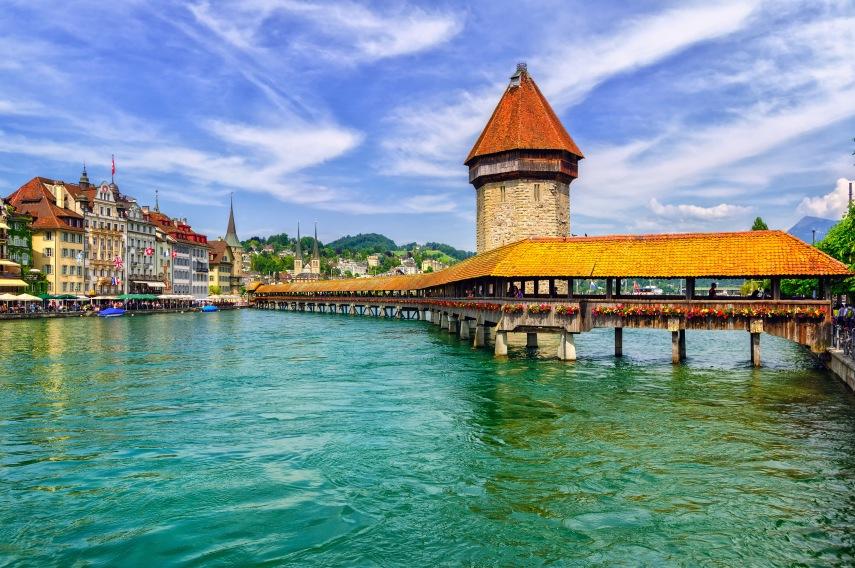 Chapel Bridge Lucerne