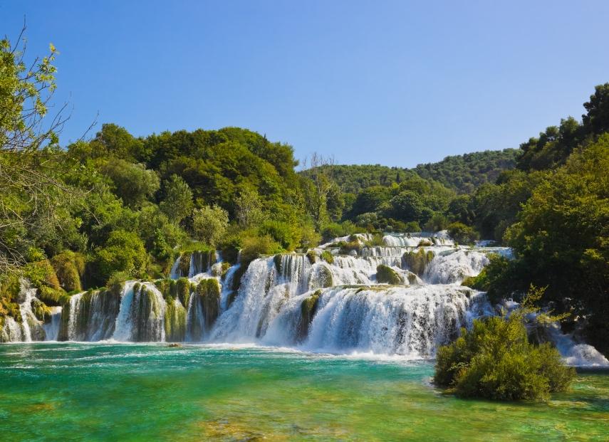 Waterfalls - Krka National Park, Dalmatia